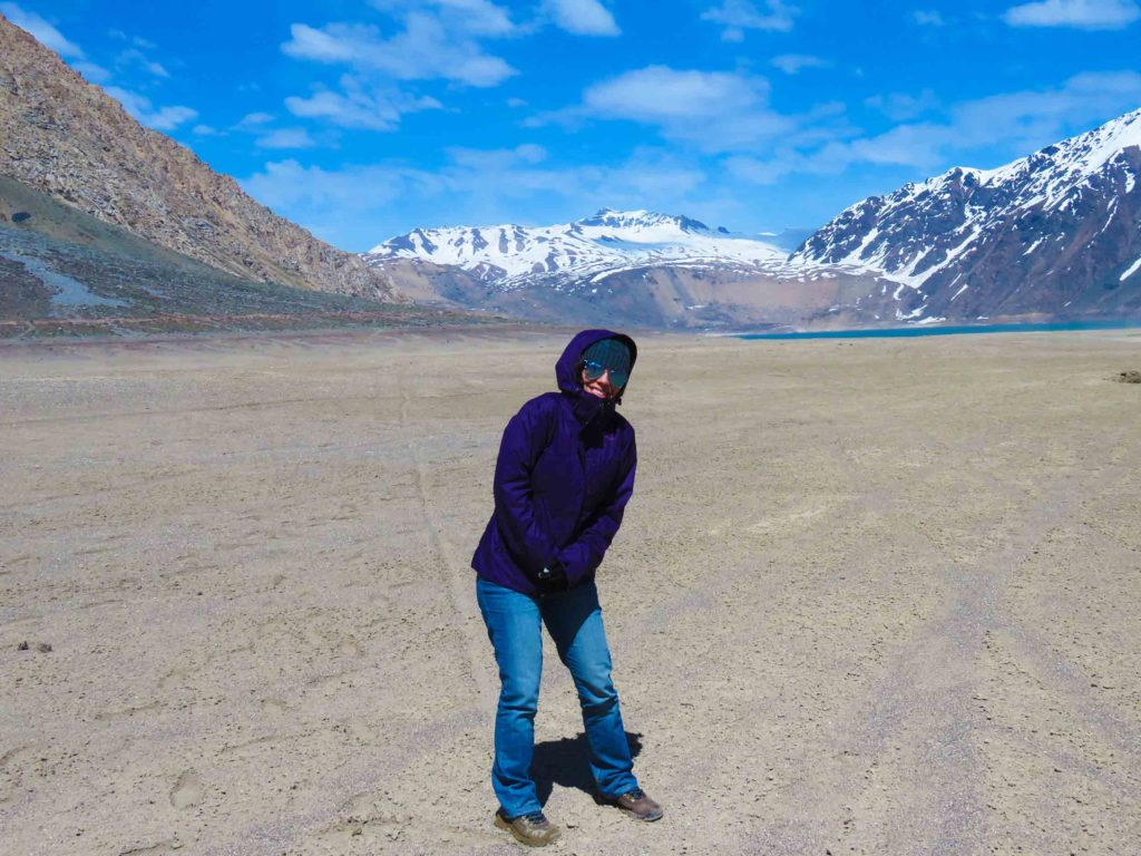 Embalse El Yeso no Chile