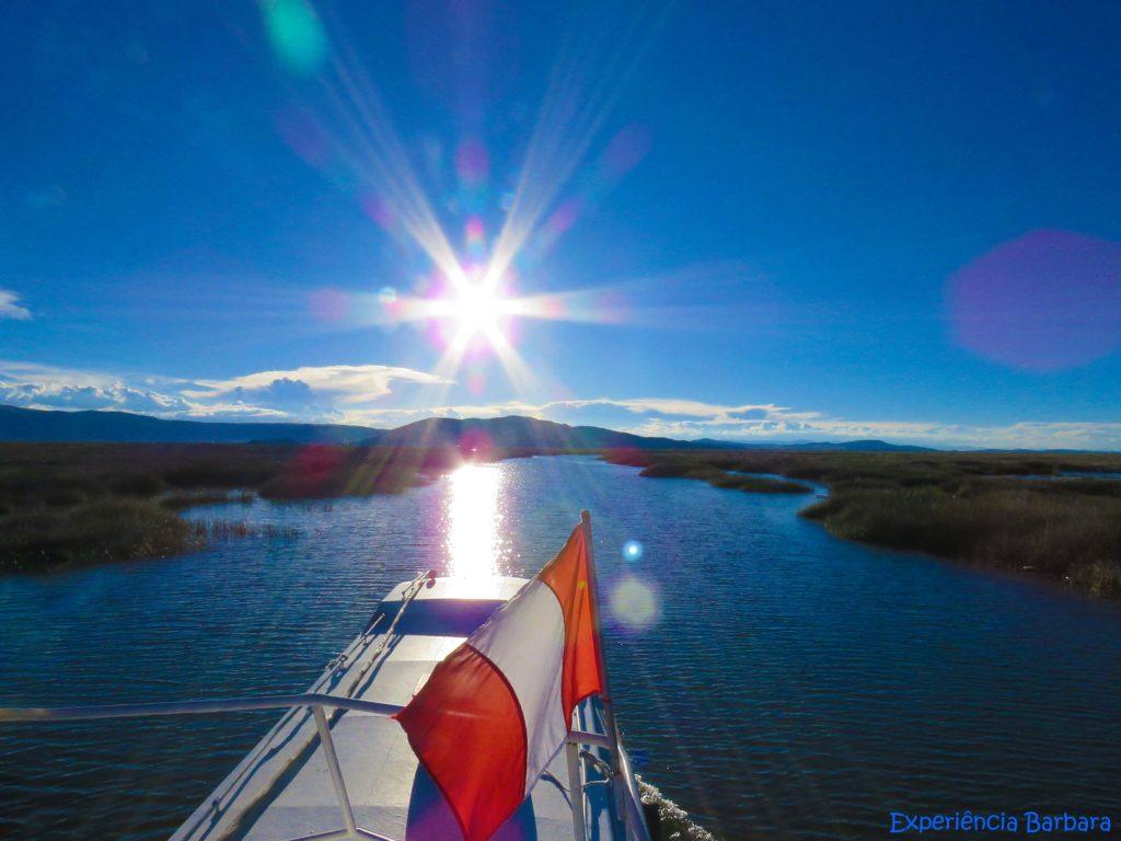 Lago Titicaca no Peru