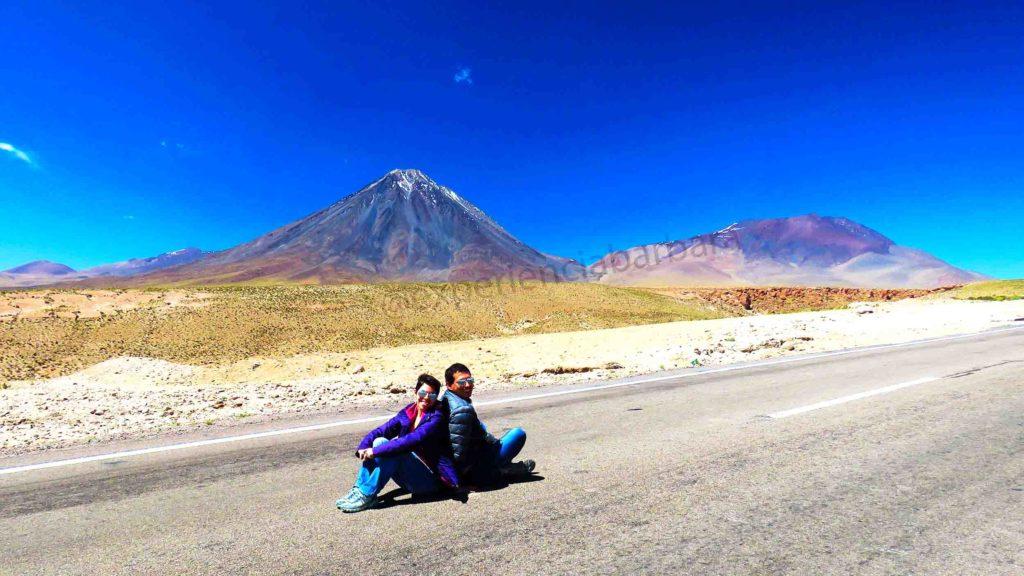 Vulcões Licancabur e Juriques