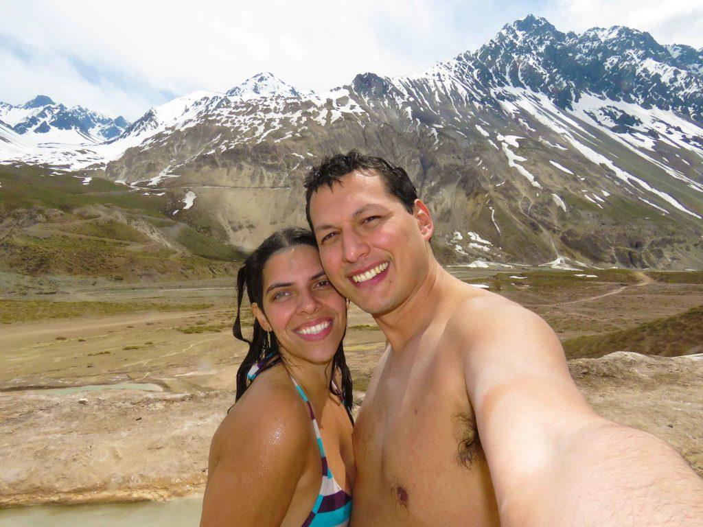 Cordilheira dos Andes - Baños Colinas no Chile