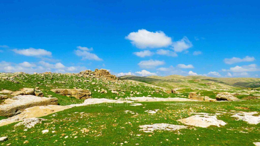Ruínas de Dara na Turquia