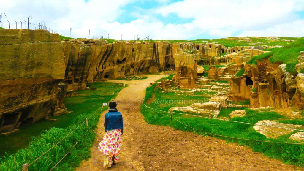 Necrópole de Dara na Turquia