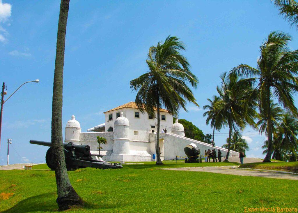 Roteiro de 1 dia em Salvador - Forte de Monte Serrat