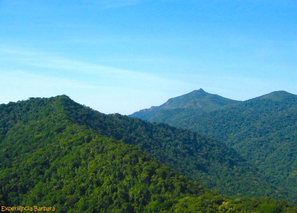 Parque Estadual de Ilhabela, vista do Pico do Baepi