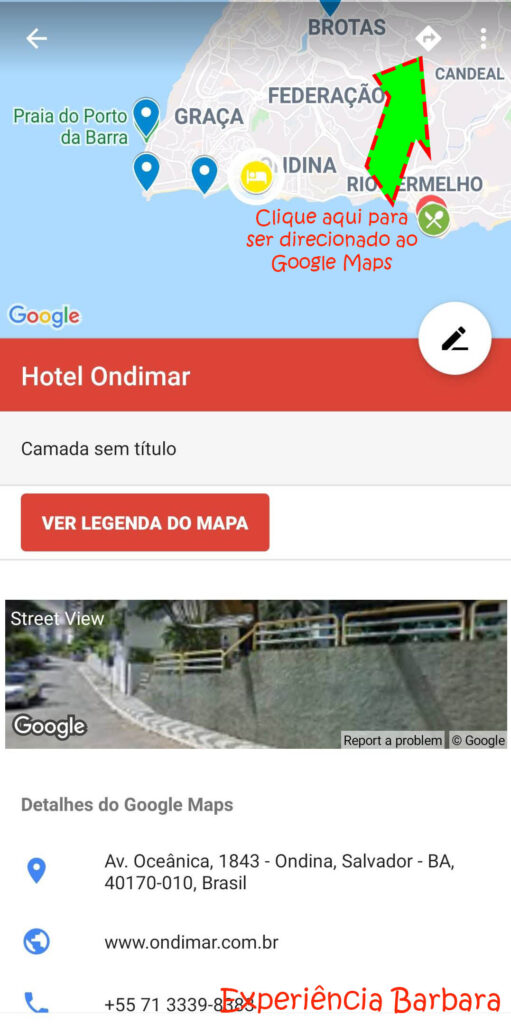 Conectando o Google My Maps com o Google Maps