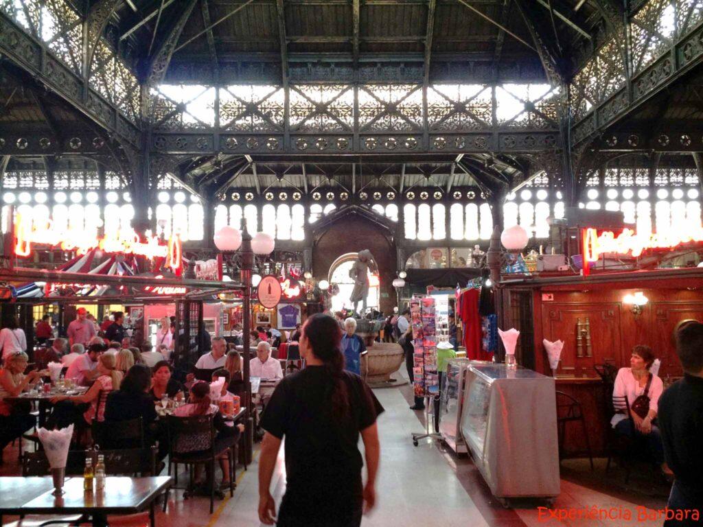 Mercados pelo mundo: Mercado Central de Santiago