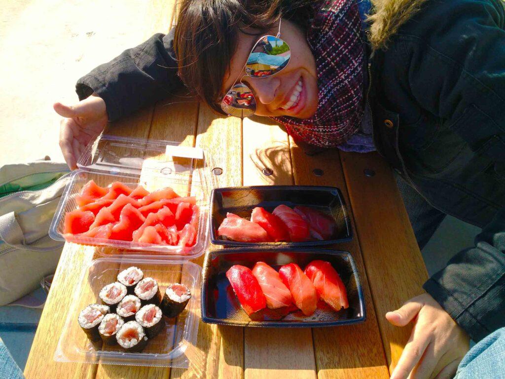 Os melhores sushis do mundo estão no Tsukiji