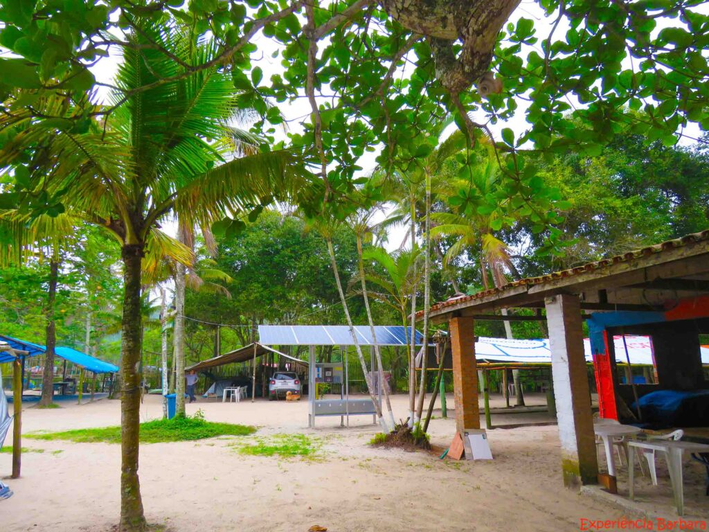 Camping do Léo em Ilhabela