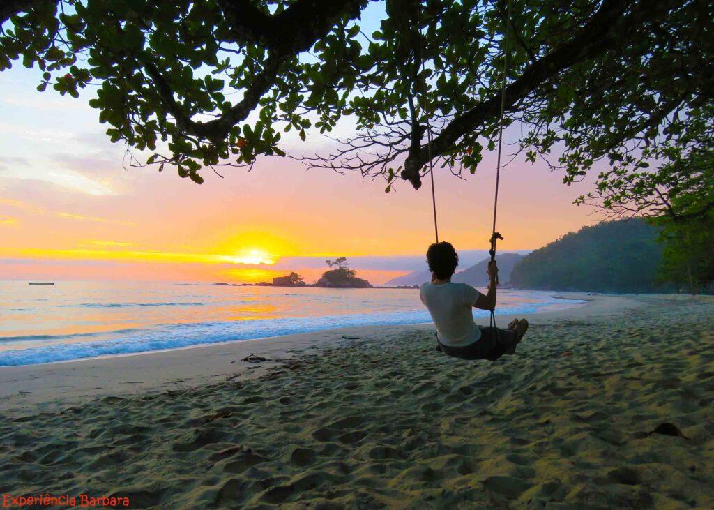 Nascer do sol Praia dos Castelhanos Ilhabela