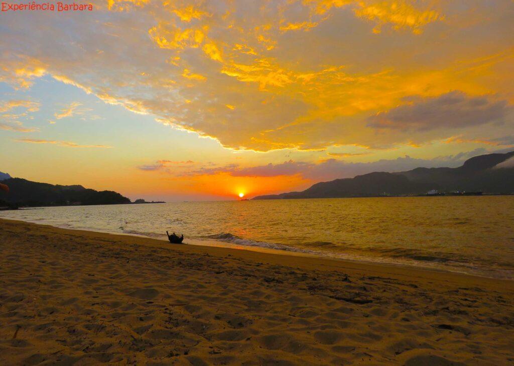 Pôr do Sol Praia do Perequê Ilhabela