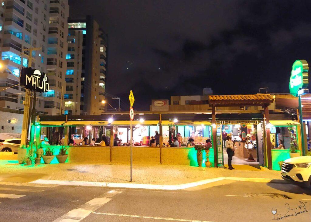 Sabores do nordeste - Restaurante Matuto em Aracaju