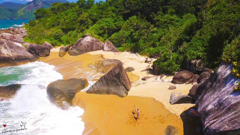 Praia do Gato - Praia de Castelhanos em Ilhabela