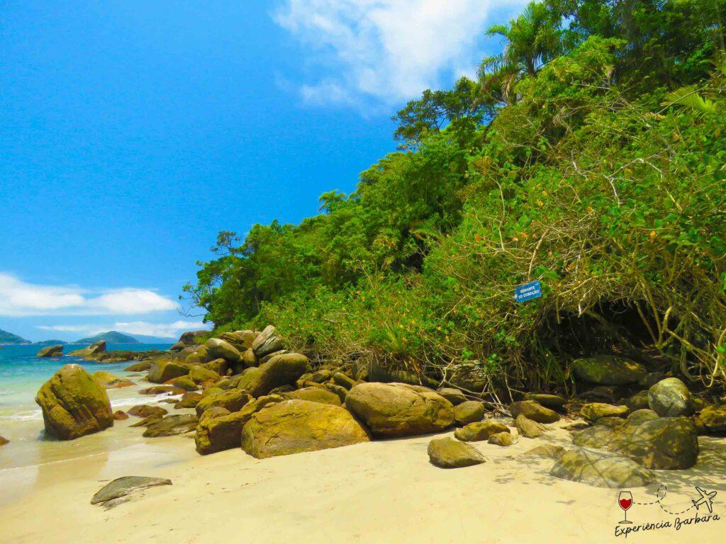 Acesso Mirante do Coração - Praia de Castelhanos em Ilhabela