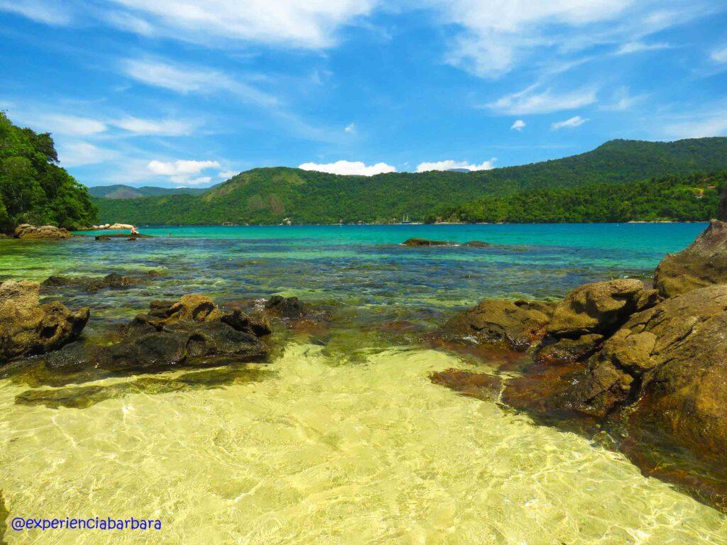 Passeio de lancha Paraty - Ilha da Cotia