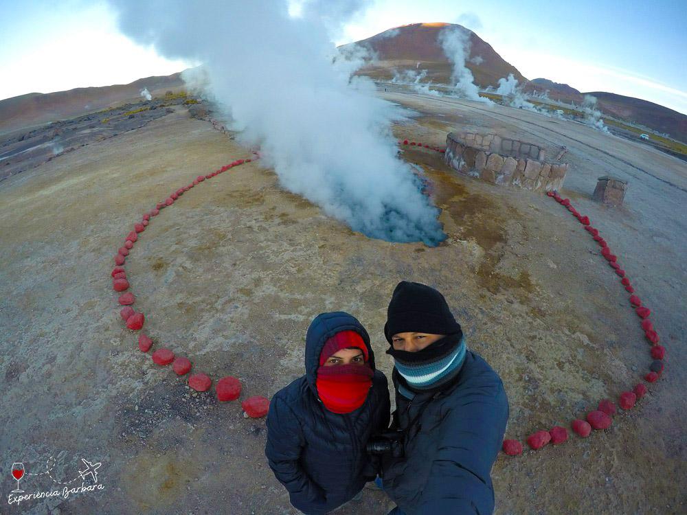 Geyser del Tatio no Atacama