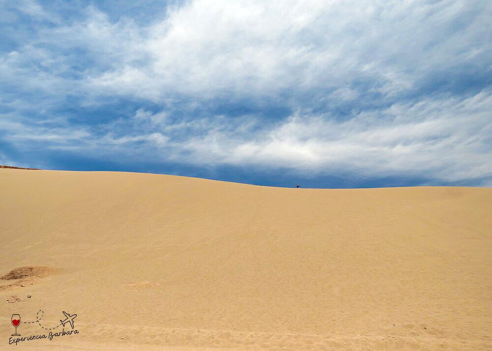 Sandboard no Valle de la Muerte no Atacama