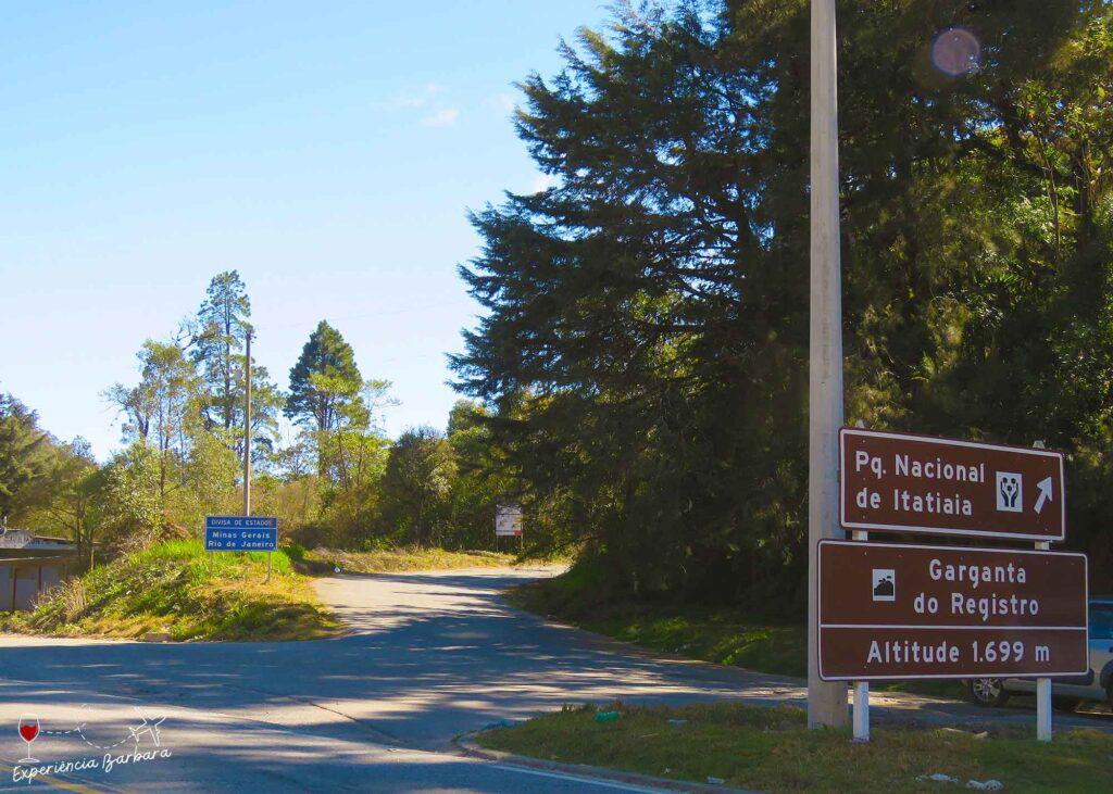 Garganta do Registro - acesso à Parte Alta Parque Nacional do Itatiaia