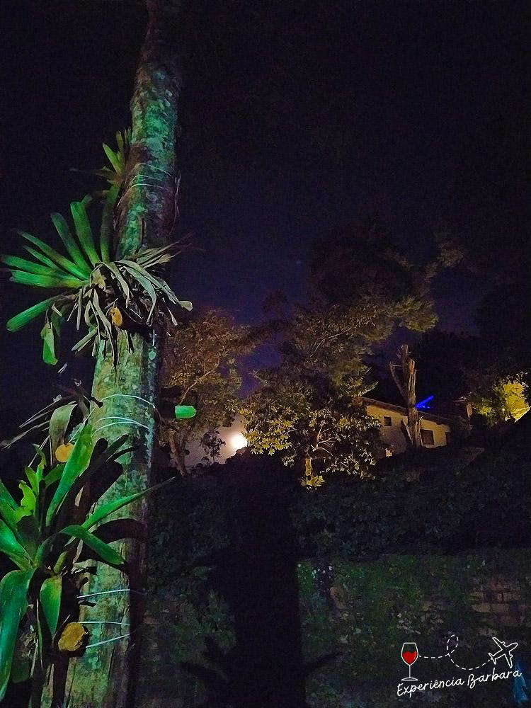 Nascer da lua cheia no Hostel Picus