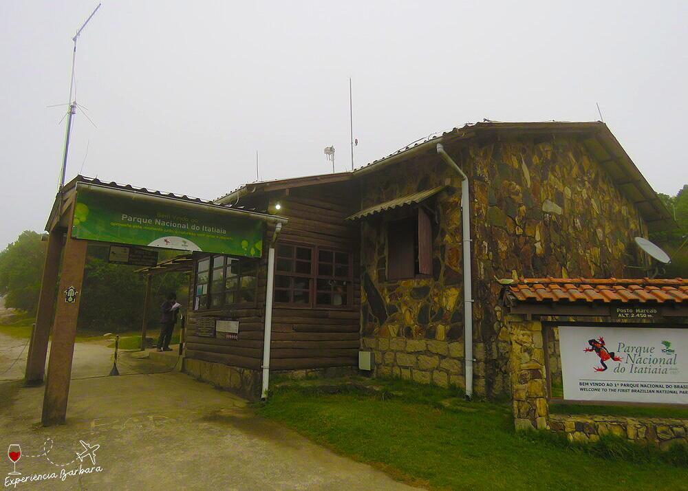 Posto Marcão - entrada da parte alta Parque Nacional do Itatiaia